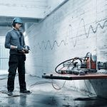 Hockdruckreinigungsanlage für Reparaturteile
